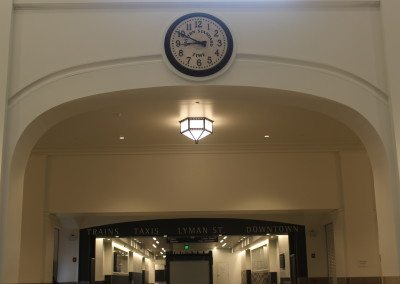 Custom Arched Molding & Clock Surround